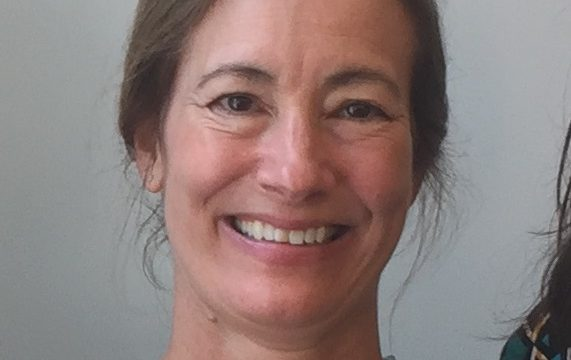 Head shot photo of Lisa White, Public Health Nurse at the Franklin Regional Council of Governments. She is smiling and looking directly at the camera.